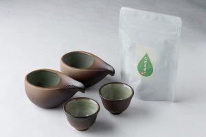 ひとしずくペア+伊勢茶セット