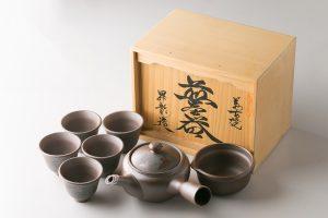 煎茶器折鶴
