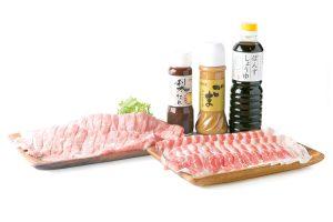 醤油&味噌製品、豚肉のセット